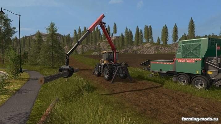 "Мод ""JCB Fastrac 3000 Xtra Forest v 1.0"""