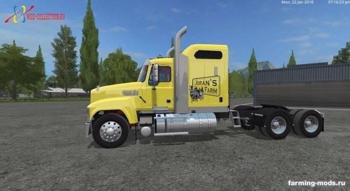 "Мод ""Mack Truck v 1.0"""