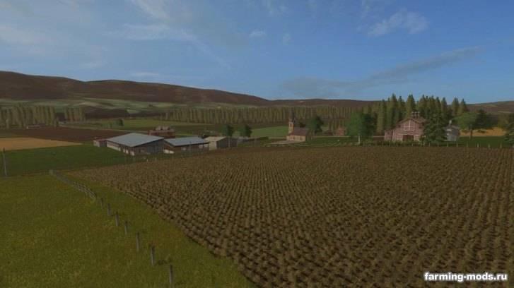 "Мод ""Карта Crawford Farms v 1.0"""