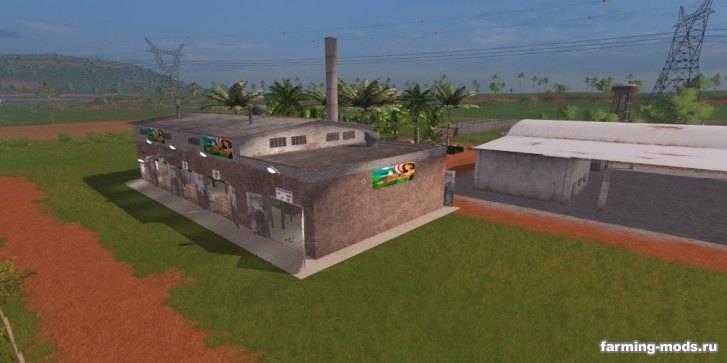 "Мод ""Производства сока - Placeable Power Juice Fabrik v 1.0"""