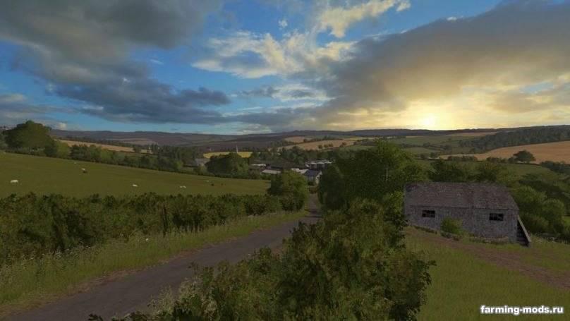 "Мод ""Карта OakField Farm v 1.0"""