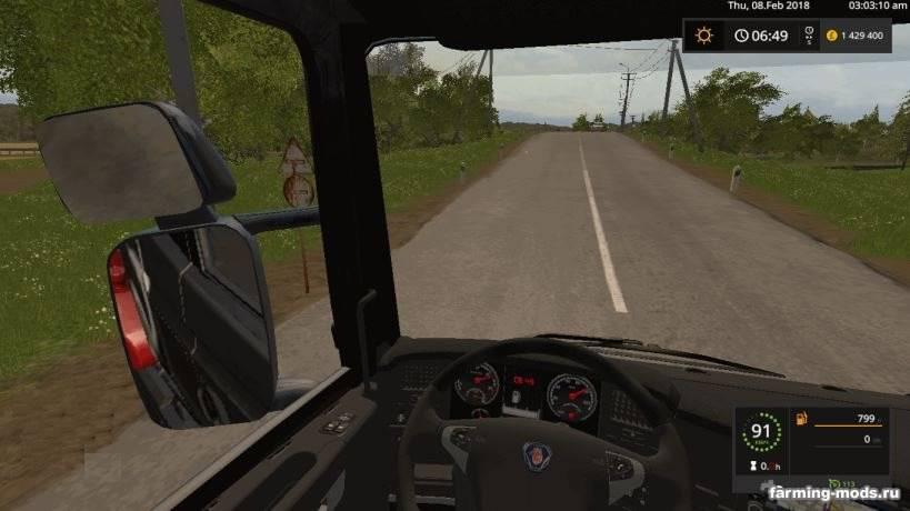 "Мод ""Scania R 2008 V8 v 1.0"""