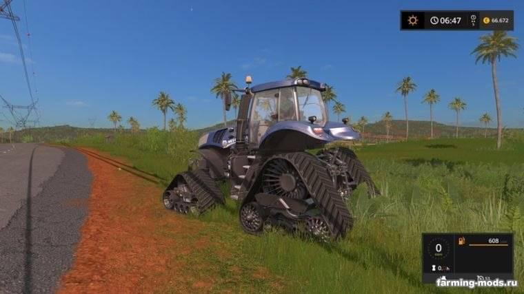 "Мод ""New Holland T8 Blue Power Crawler v 1.0"""