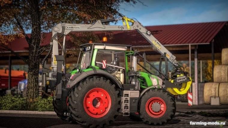 """Мод """"Трактор Fendt Vario S4 800 Series v 1.0.0.1"""""""