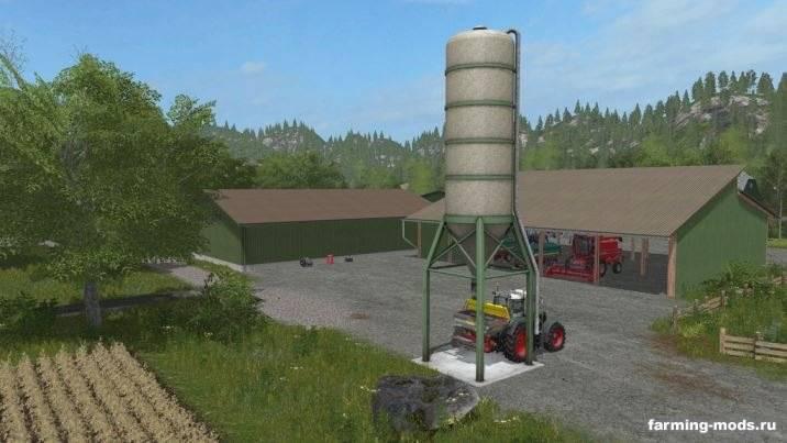"Мод ""Fertilizer Silo v 1.0"""
