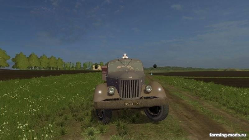 "Мод ""Зил-164Н с прицепом ОДАЗ v 1.1.1"""