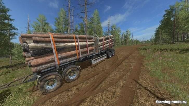 "Мод ""Log Trailer v 1.0"""
