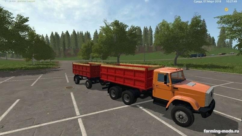 Мод Зил-4331 v 1.2 для Farming Simulator 2017