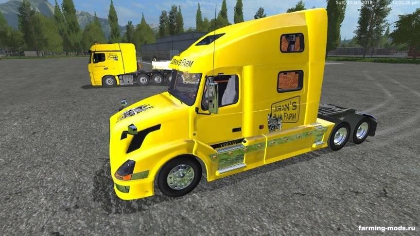 "Мод ""Пак Usa Truck v 1.0"""