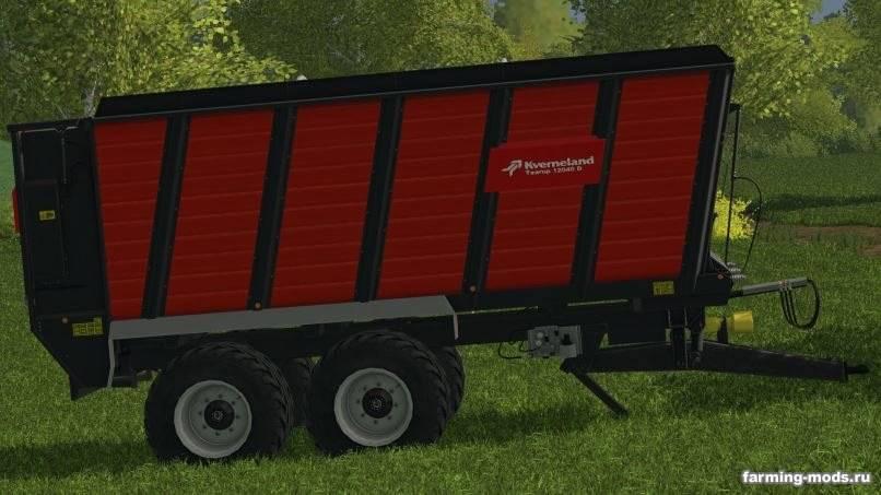 """Мод """"Kverneland silo trailer v 1.0.0.1"""""""