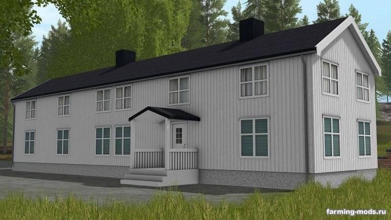"Мод ""Nordic Farm Buildings v 1.0"""