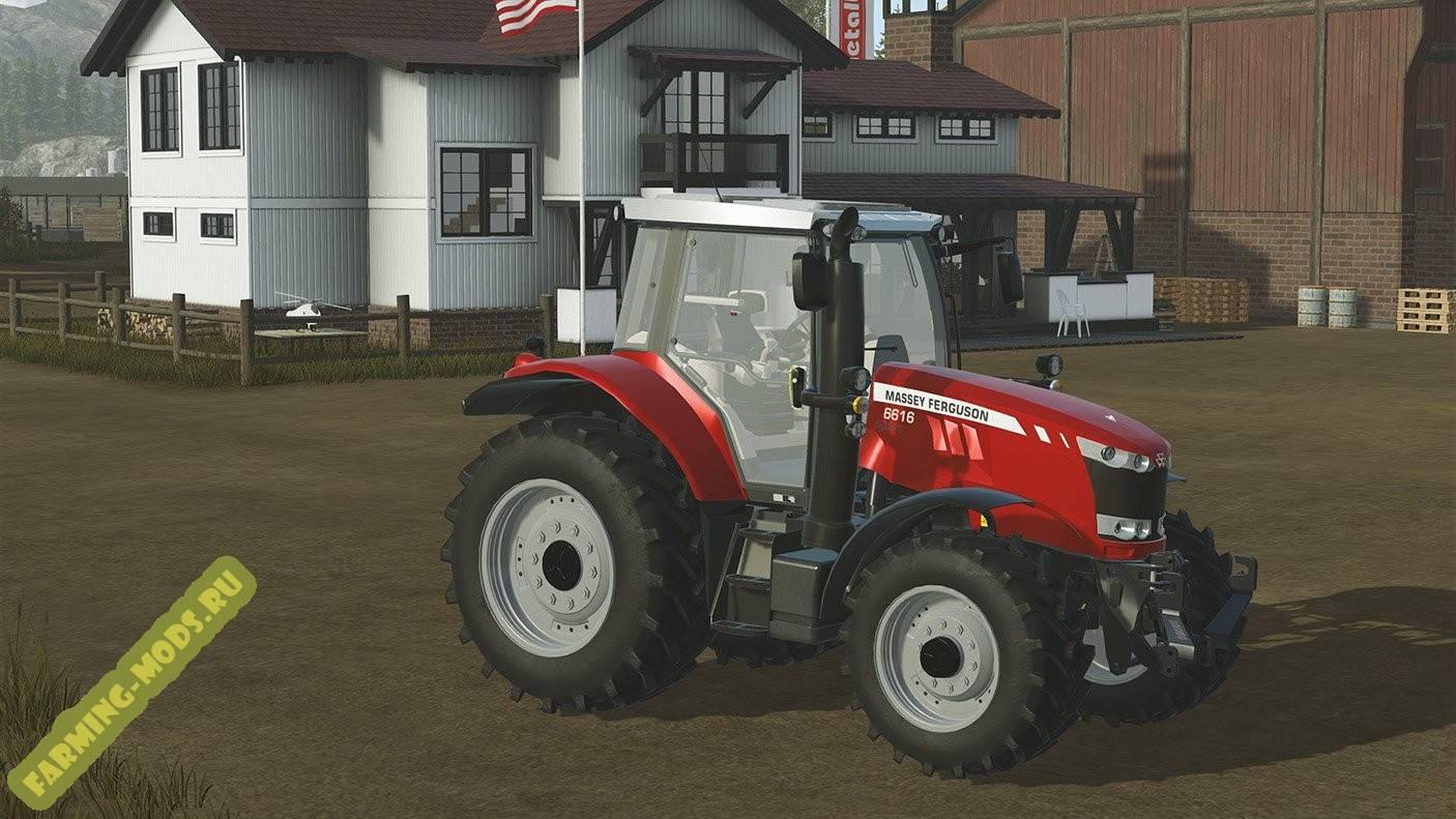 "Мод ""Massey Ferguson 6616"" для Pure Farming 2018"