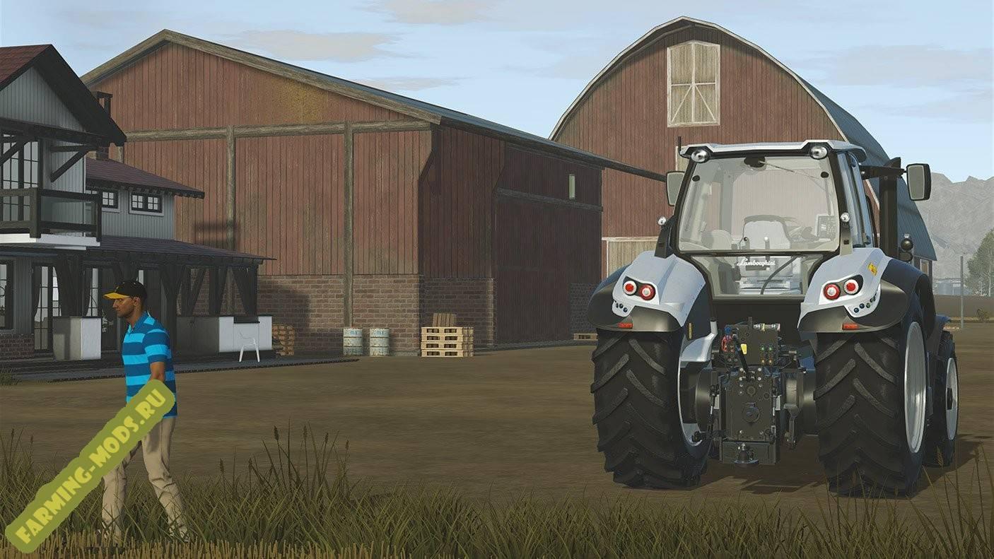 "Мод ""Lamborghini Mach 250 VRT"" для Pure Farming 2018"