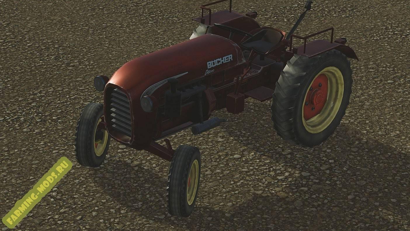 "Мод ""Bucher 4000"" для Pure Farming 2018"