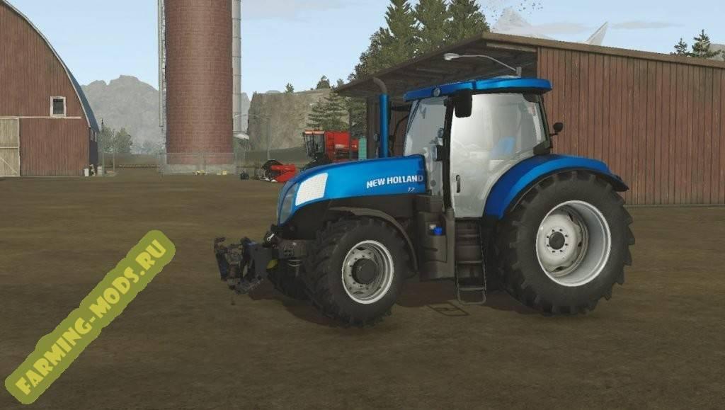 "Мод ""New Holland T7"" для Pure Farming 2018"