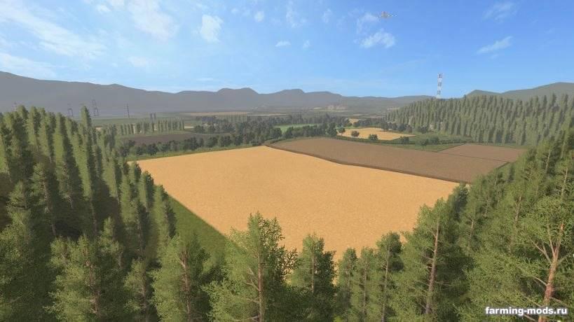 "Мод ""Карта Sussex Farm v 2.0"""