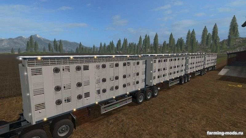 """Мод """"Custom Road Train Pack v 2.1 RUS"""""""