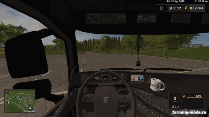 "Мод ""Volvo FH16 Woodpack v 1.0"""