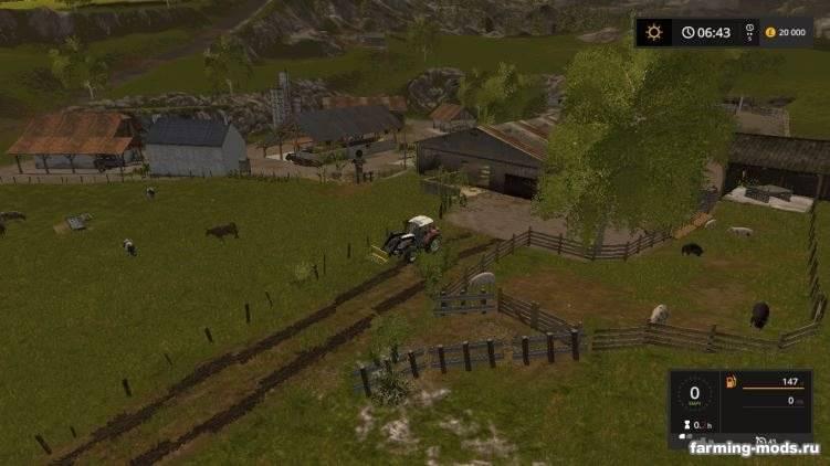 "Мод ""Карта Old Slovenian Farm v 2.0.0.1"""