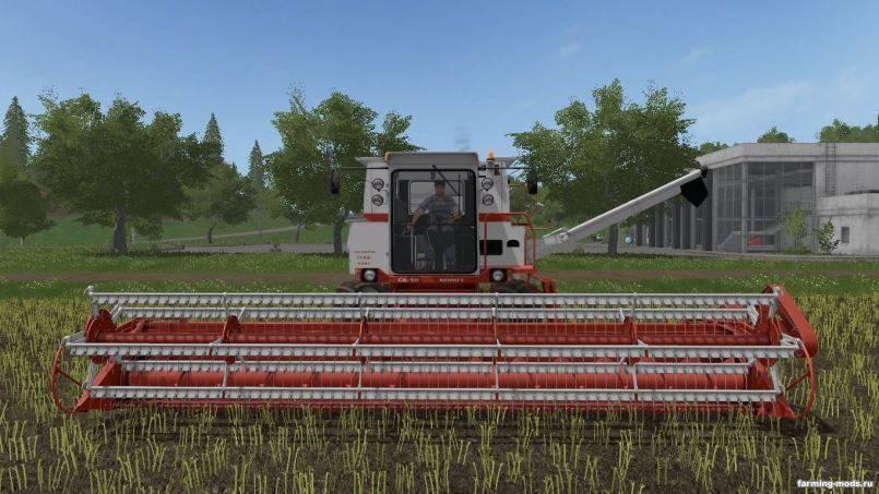 Мод Комбайн СК-10 Ротор v beta для Farming Simulator 2017