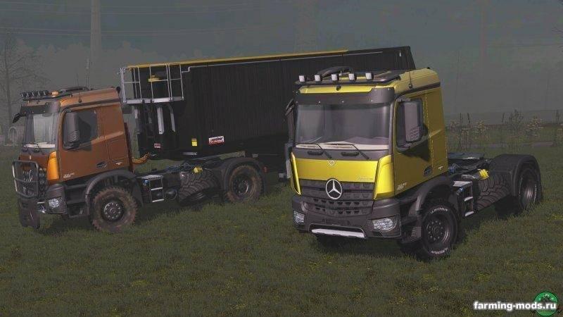 "Мод ""Тягач Mercedes Arocs Agrar v 1.2"""