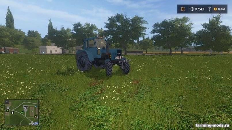 "Мод ""Трактор МТЗ-80 ""Беларус"" v 1.0"""