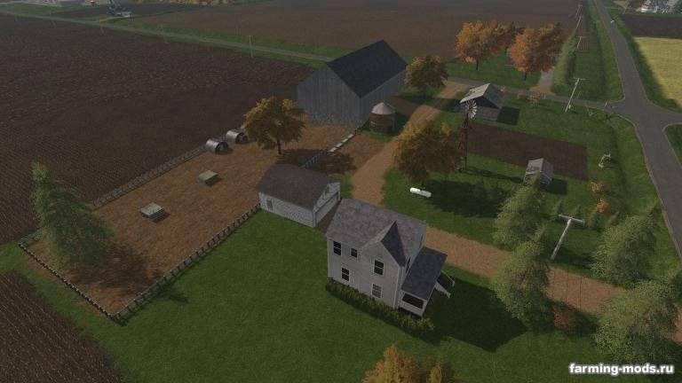 "Мод ""Карта Blake Farm Map v 1.0"""