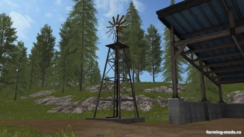 """Мод """"Windmill Watersupply v 1.0"""""""