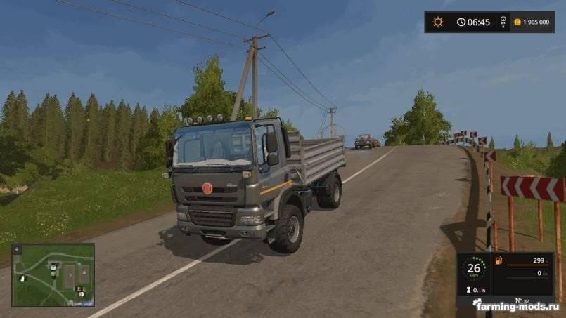 "Мод ""Tatra Phoenix 4X4 v 1.2"""