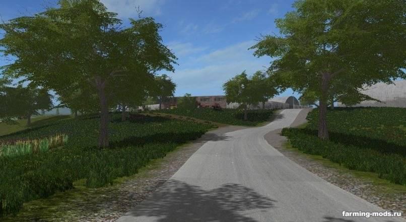 Мод Карта Перестройка 2 v 1.0 для Farming Simulator 2017