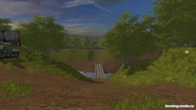 Мод Карта КФХ Фортуна v 1.5.4 для Farming Simulator 2017