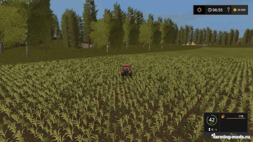 Мод Карта Будни Тракториста v 3.0 для Farming Simulator 2017