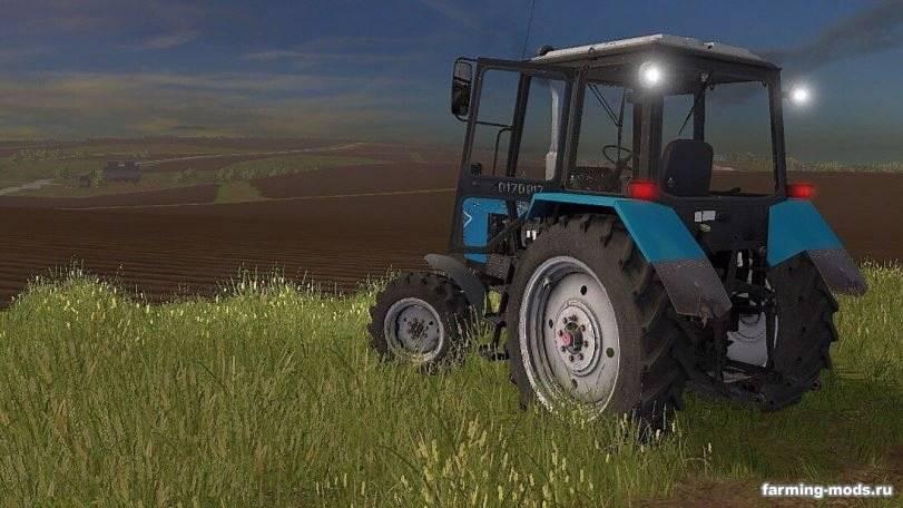 Мод Трактор МТЗ-82.1 v 1.0.0.0 для Farming Simulator 2017