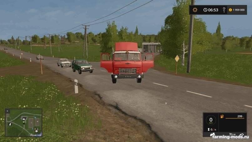 Мод Пак МАЗ-504 v 1.1 для Farming Simulator 2017