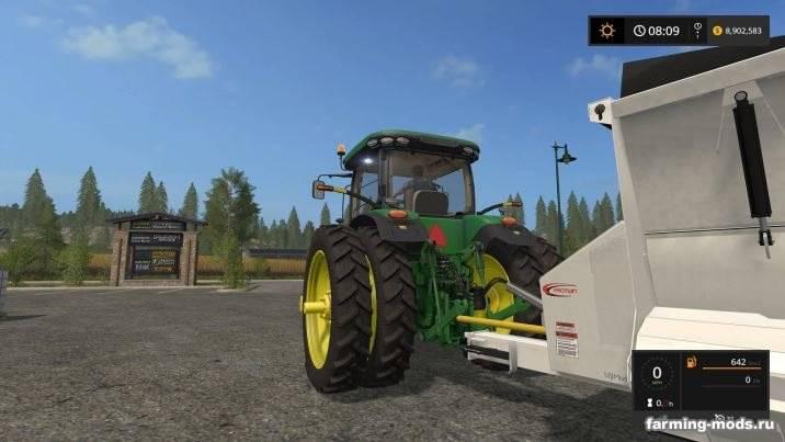 Мод Knight SLC141 Manure Spreader v 1.0 для Farming Simulator 2017