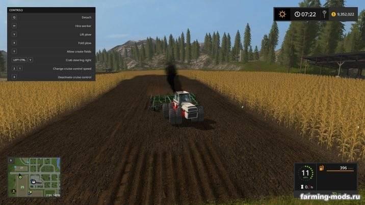 Мод Case 2870 Traction King v 1.0 для Farming Simulator 2017