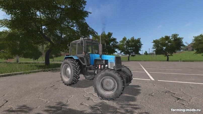 Мод Трактор МТЗ-1221 v 1.5 для Farming Simulator 2017