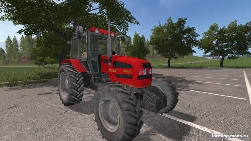 Мод МТЗ-1221.4 v 1.5 для Farming Simulator 2017