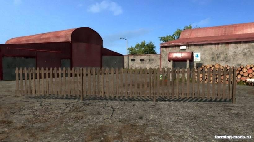 Мод Wood Fence Panel v 1.0 для Farming Simulator 2017