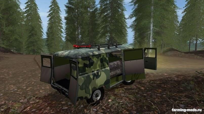 Мод УАЗ-3909 v 1.2 для Farming Simulator 2017