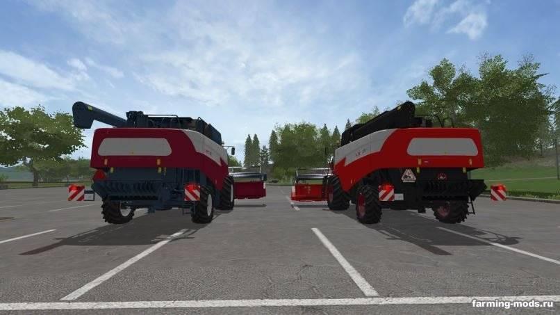 Мод Acros 595 Plus и Acros 585 v 1.0.0.5 для Farming Simulator 2017
