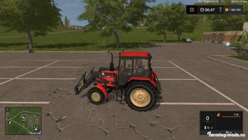 Мод МТЗ-82 TS Беларус v 1.0 для Farming Simulator 2017