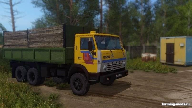 Мод Камаз-55102 v 1.1 для Farming Simulator 2017