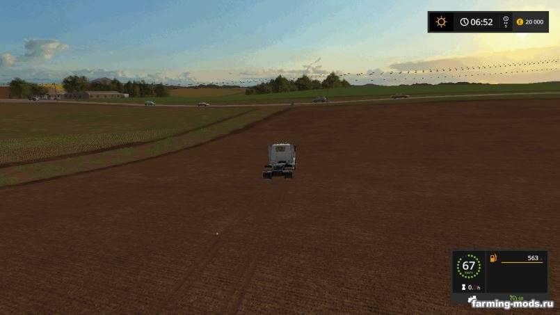 Мод Карта Lone Oak Farm v 1.0 для Farming Simulator 2017