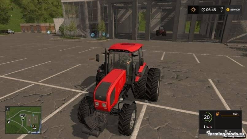 Мод МТЗ-1822 v 1.2.3 для Farming Simulator 2017