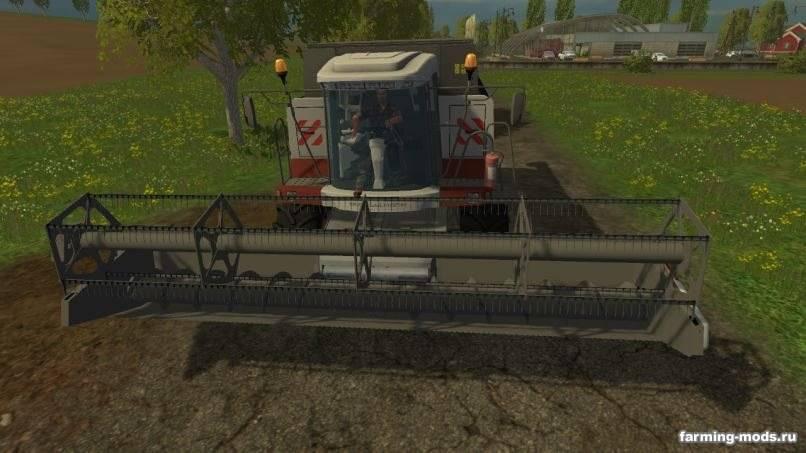 Мод Ростсельмаш Acros 530 v 1.3 для Farming Simulator 2015