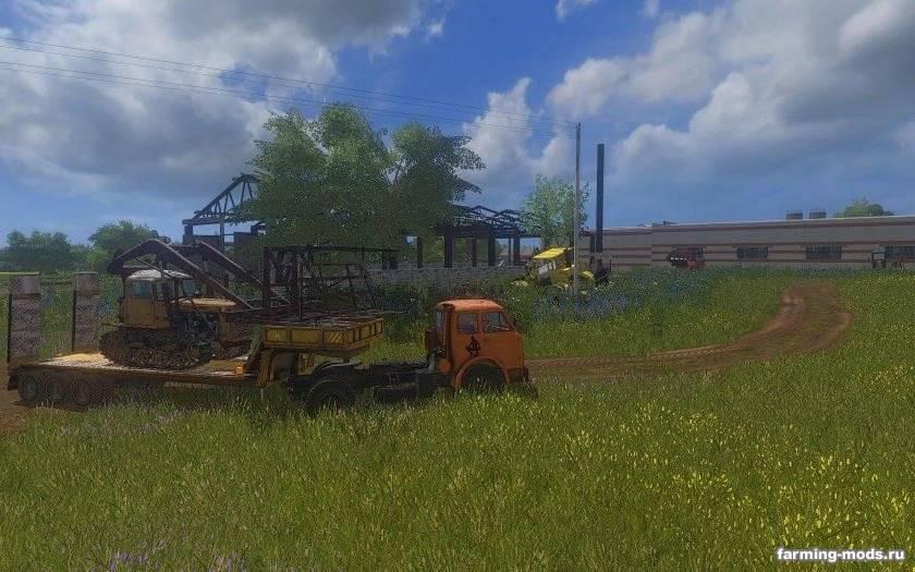 Мод Трал для перевозки техники v 1.1.0.0 для Farming Simulator 2017