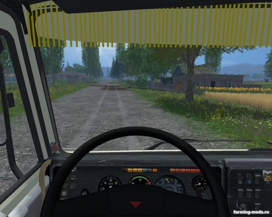 Мод Камаз-54115 v 2.0 для Farming Simulator 2015