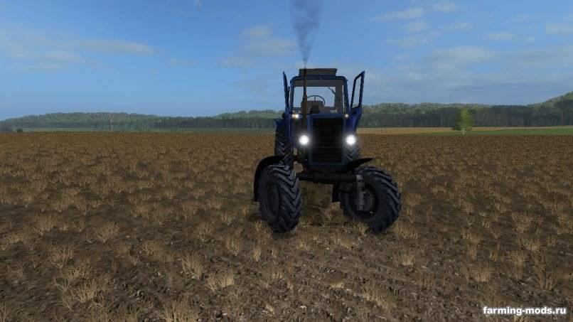 Мод Трактор Беларус МТЗ-82  v 1.0 для Farming Simulator 2017