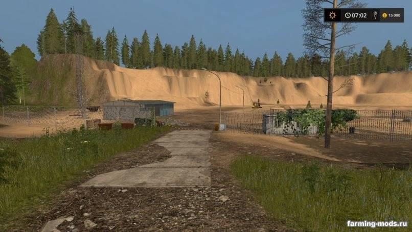 Карта Россия v 1.07 для Farming Simulator 2017